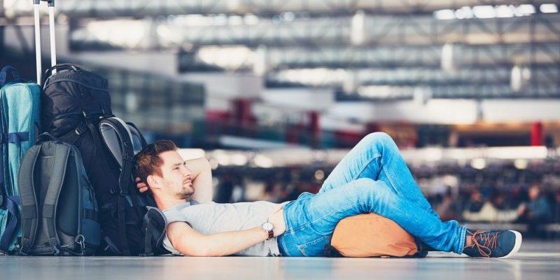 Forsød ventetiden i lufthavnen